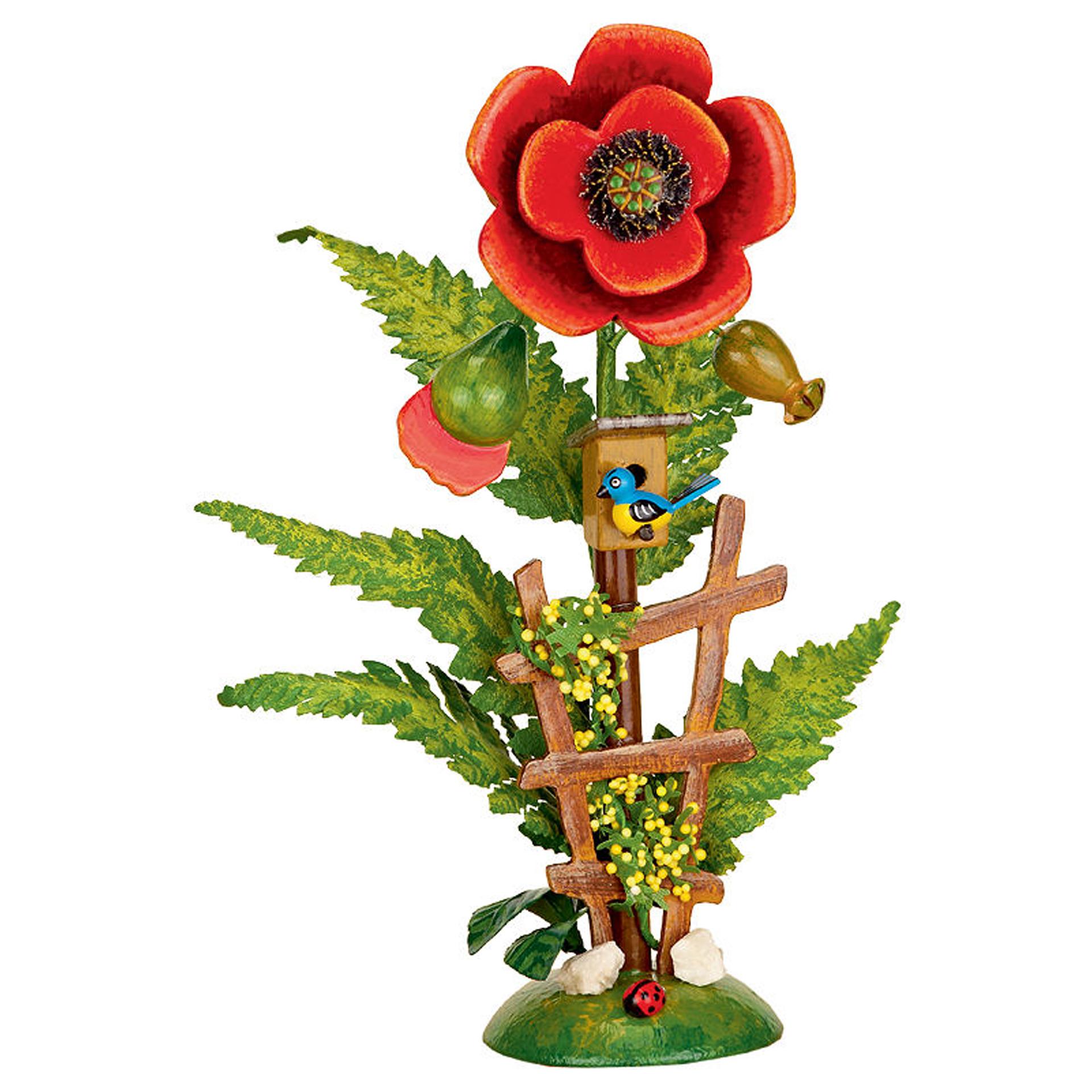 Blumeninsel Mohn