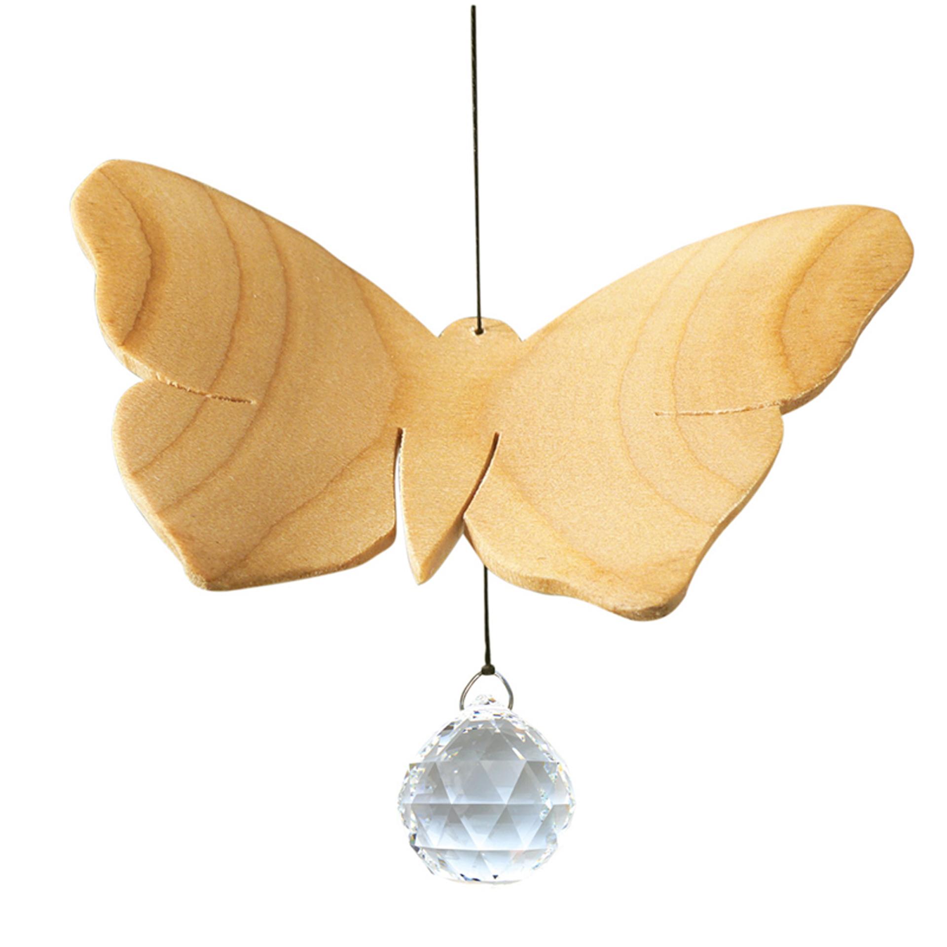 Fensterschmuck Mobile Schmetterling, mit Kristall
