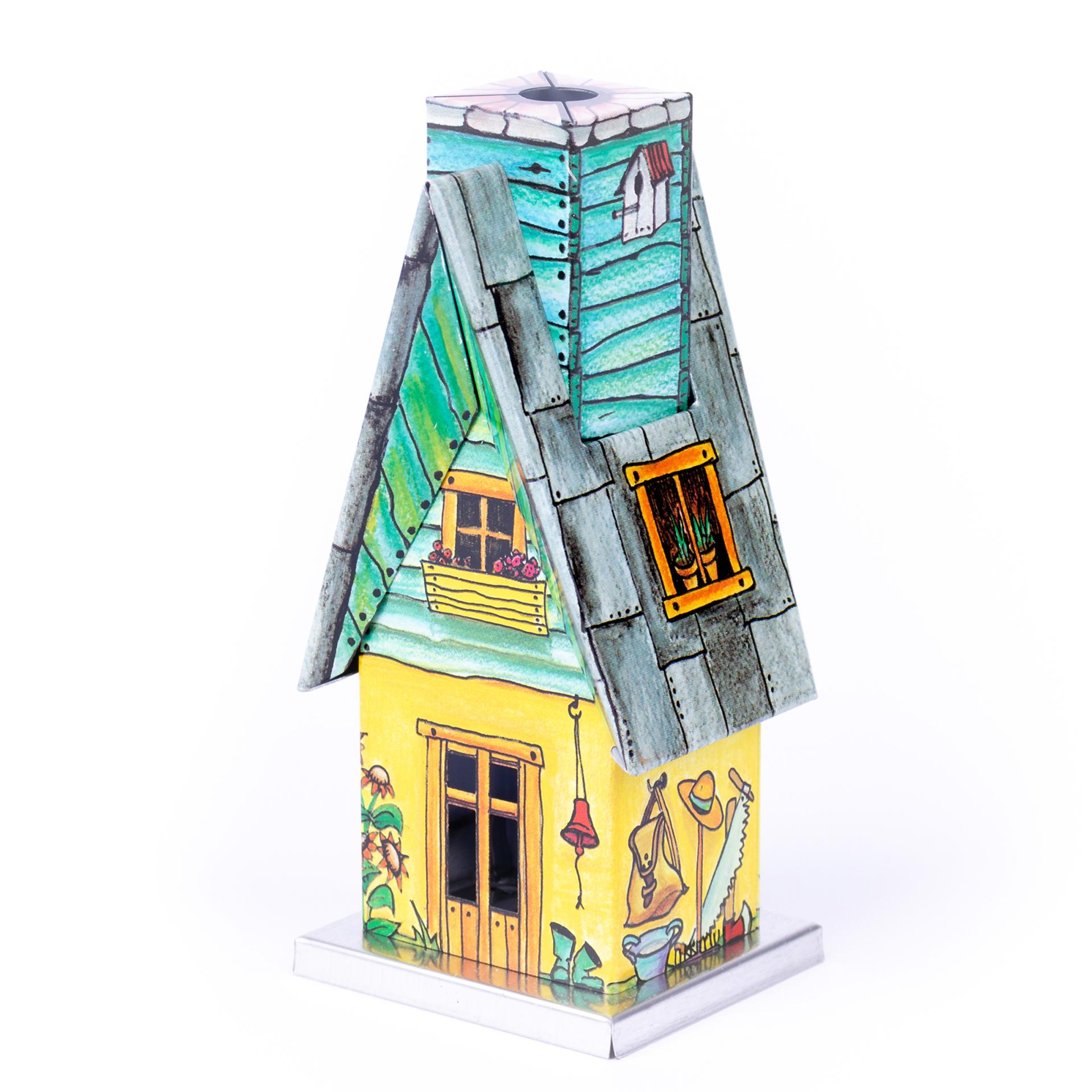 Rauchhaus Metall Gartenhütte