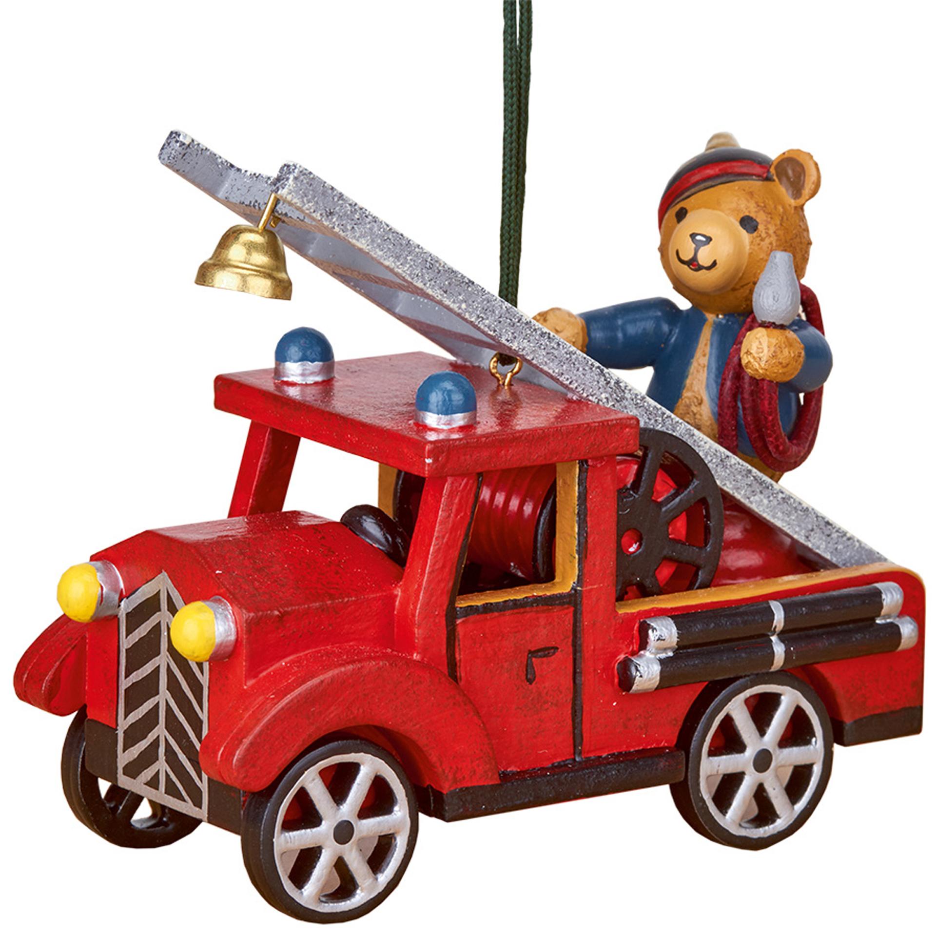Baumschmuck Feuerwehr mit Teddy