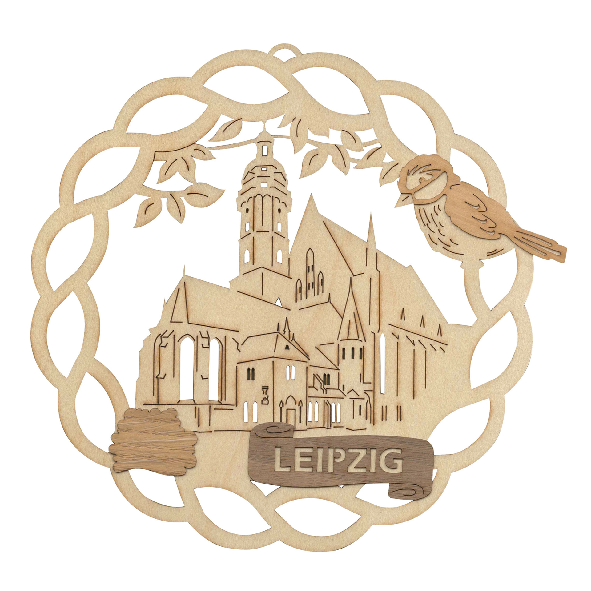 Fensterbild Leipzig Thomaskirche