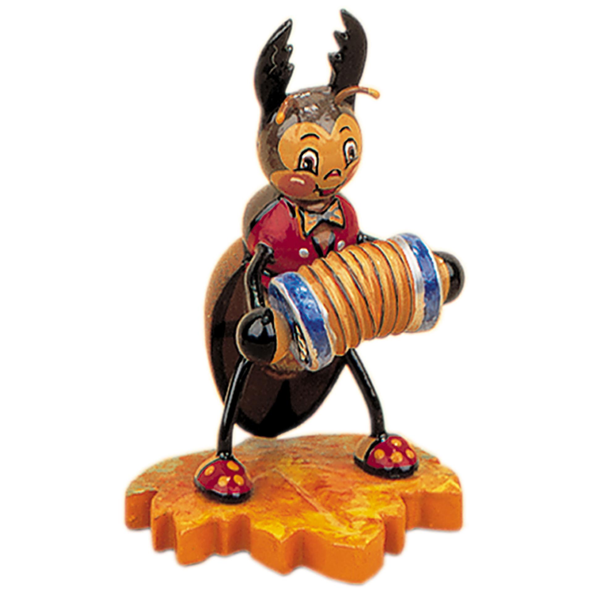 Käfer mit Ziehharmonika