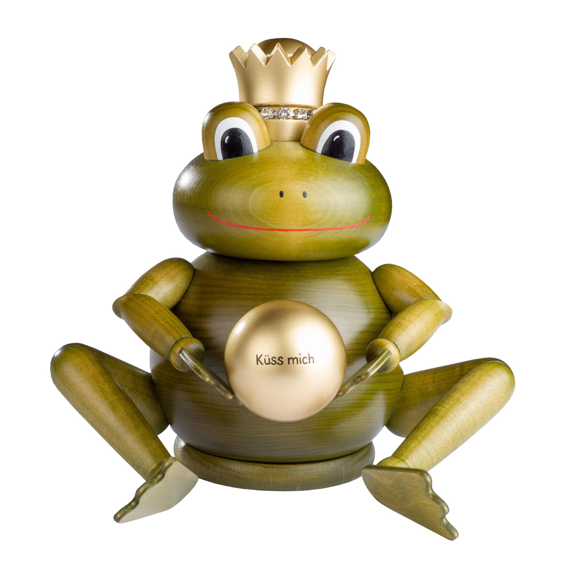 Rauchfigur Froschkönig