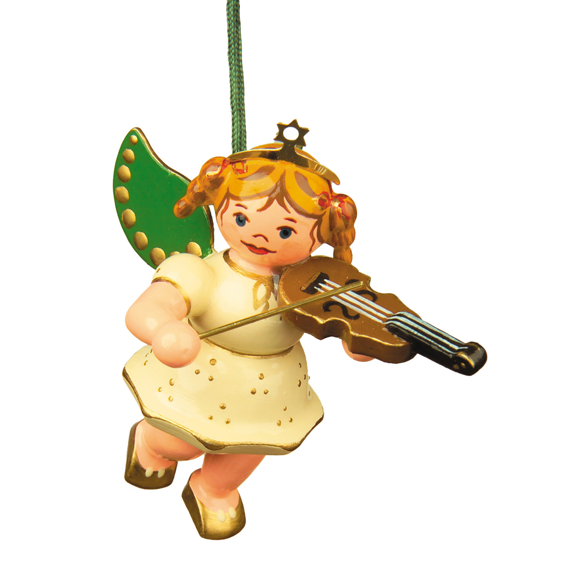 Baumschmuck Engel mit Geige