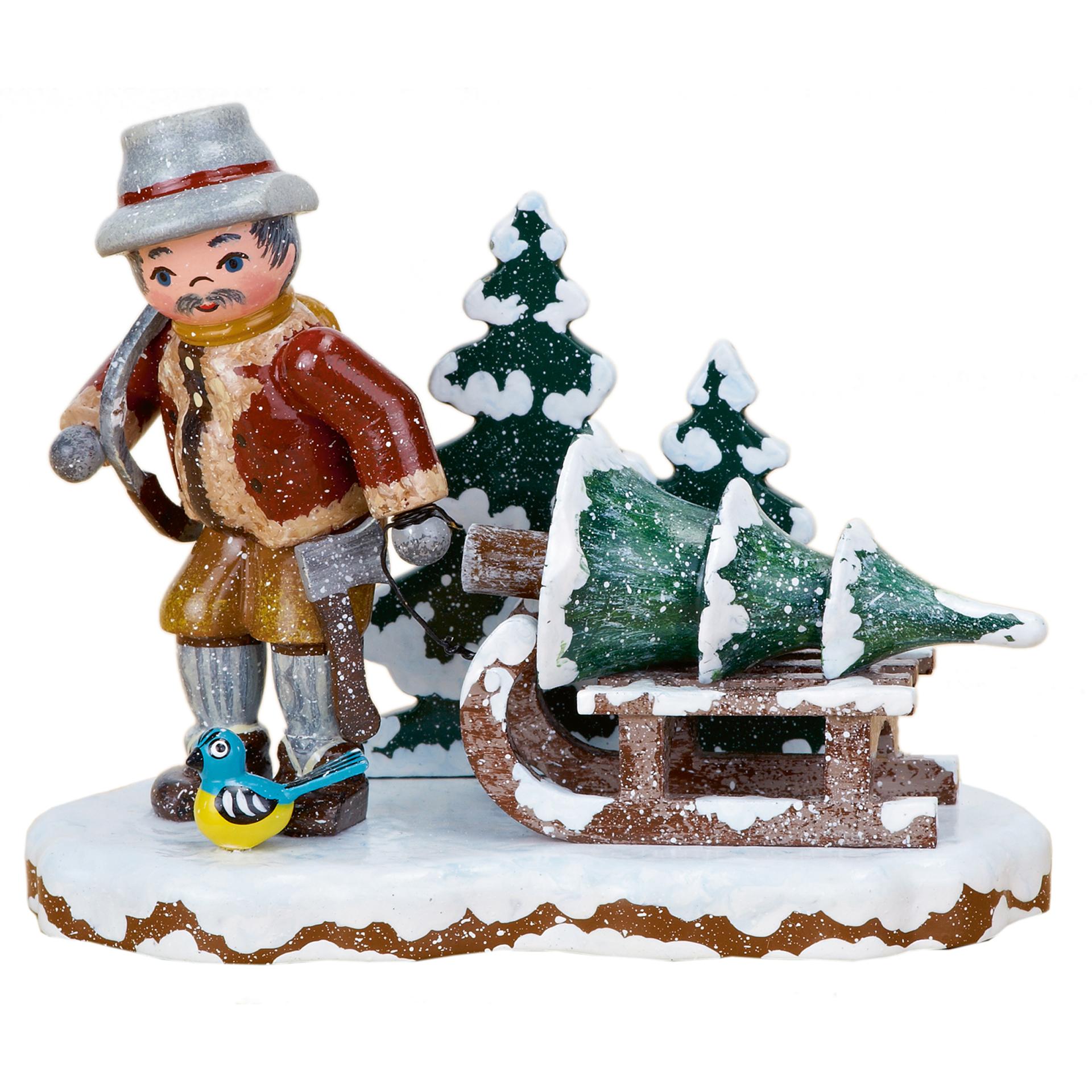 Winterkind Christbaumdieb