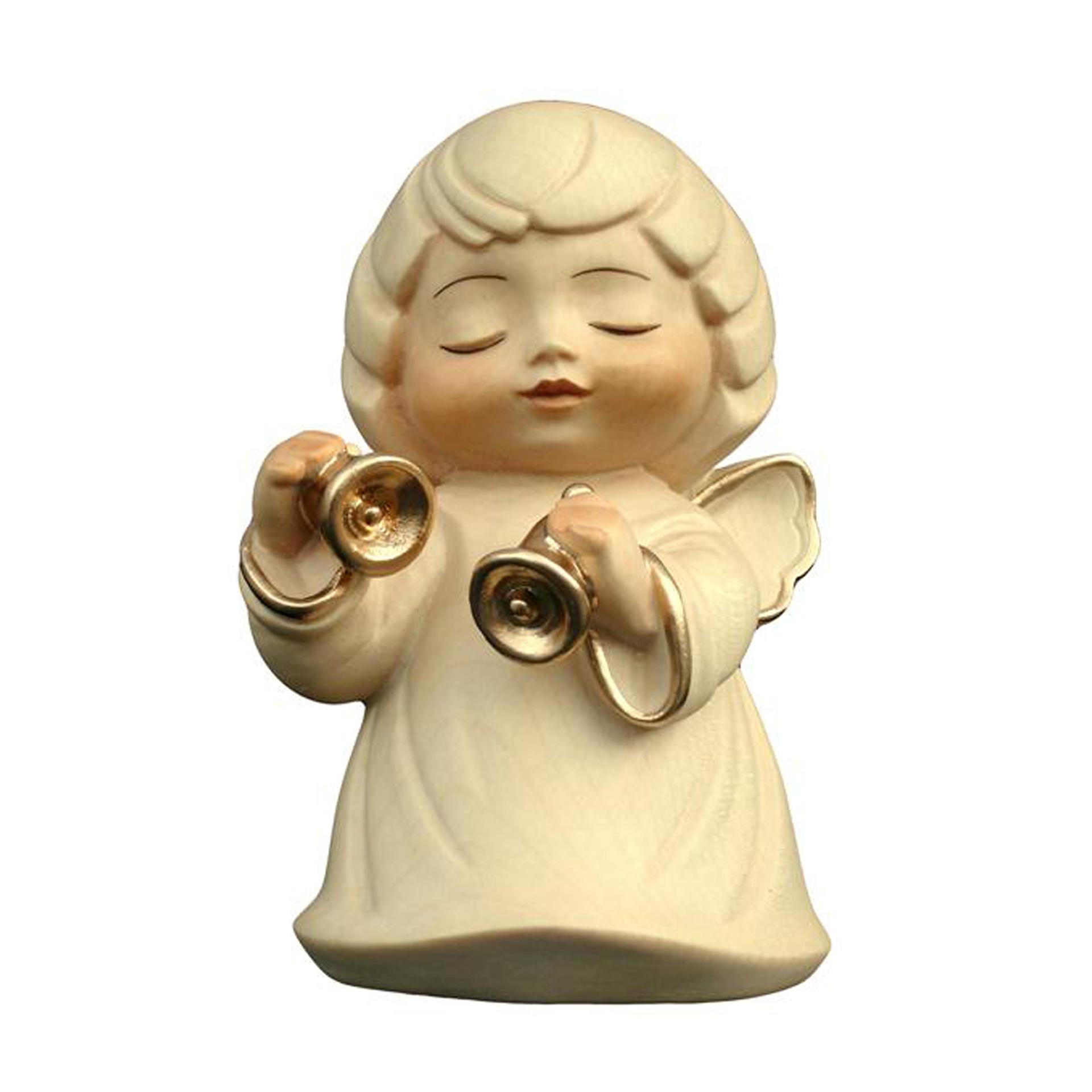 Engel mit Glocke, alabaster