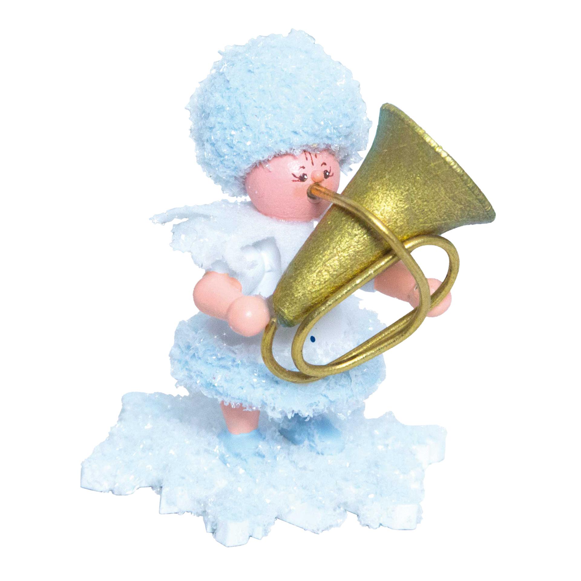 Schneeflöckchen mit Tuba