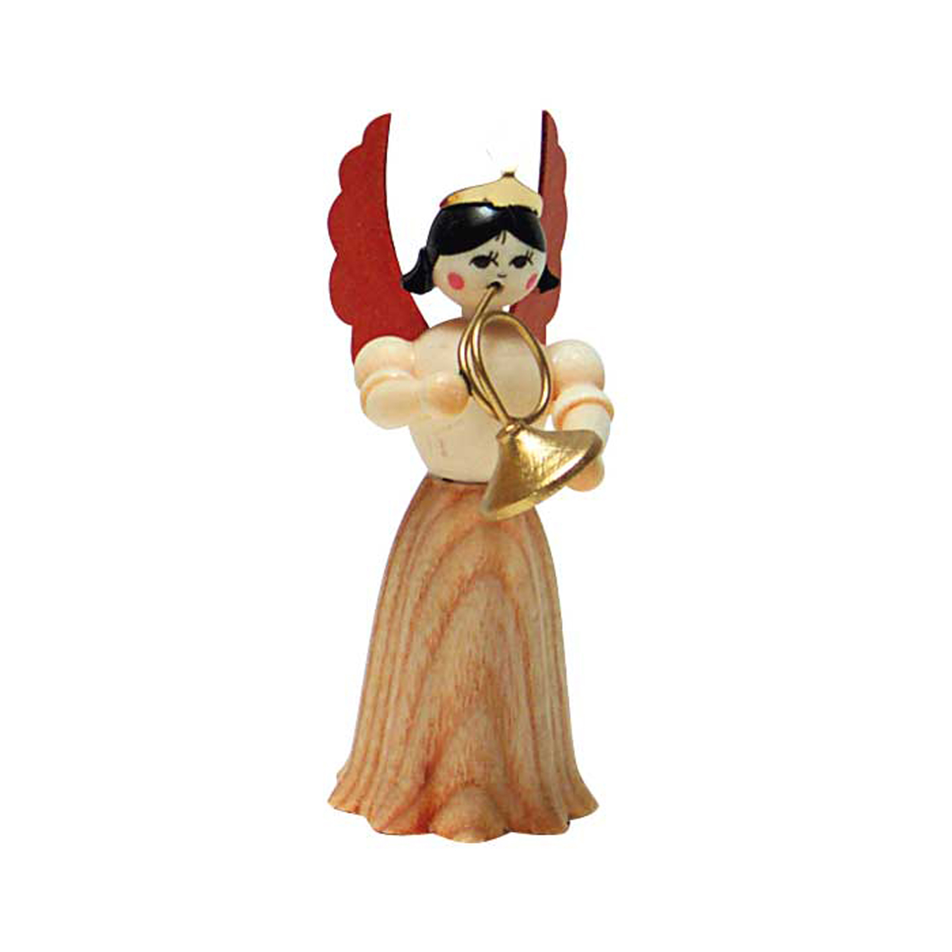 Engel mit Waldhorn, 7cm