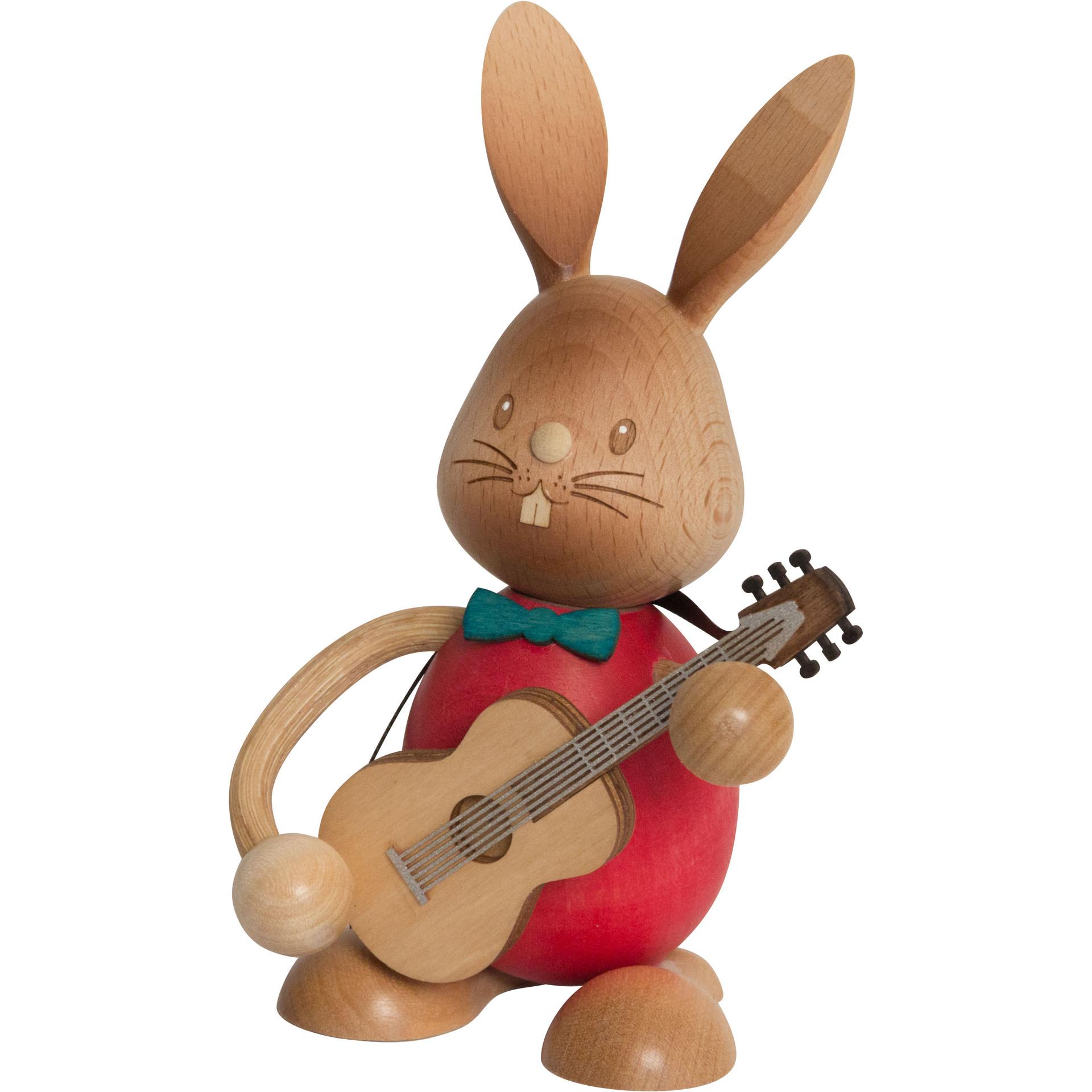 Stupsi Hase mit Gitarre