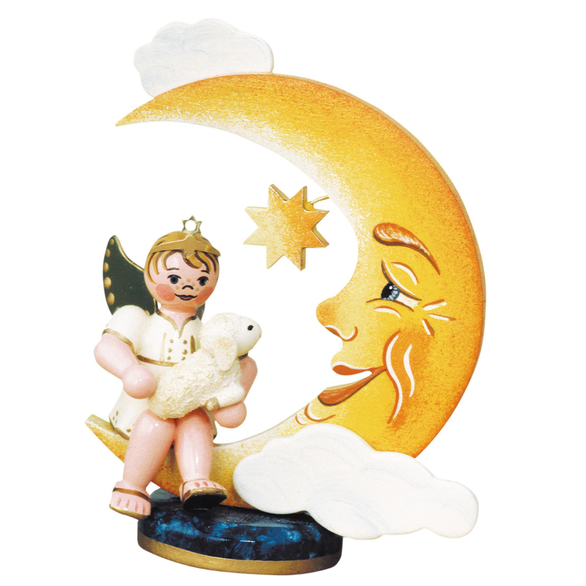 Engelbub-Mond mit Schäfchen