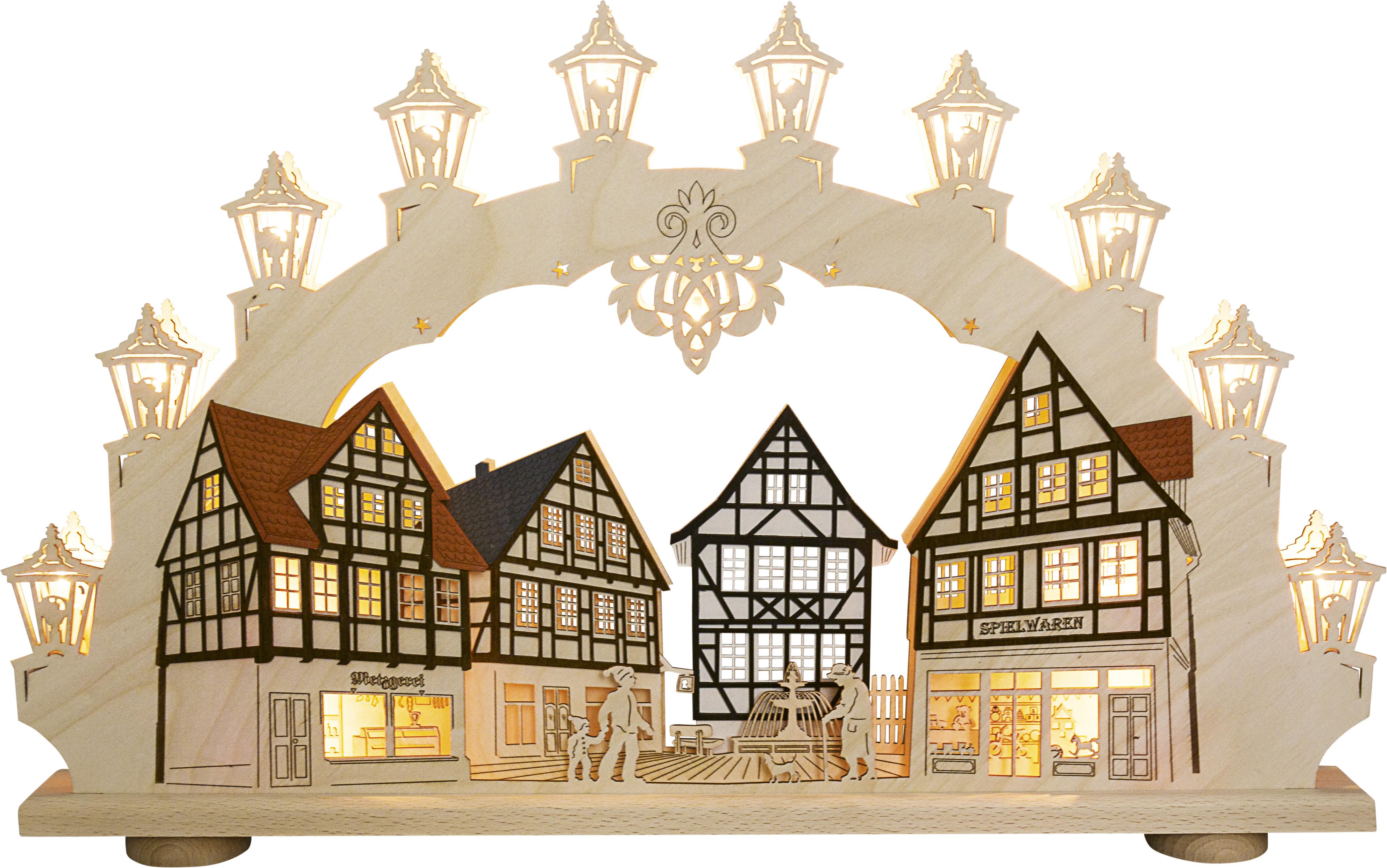 Schwibbogen Altstadt