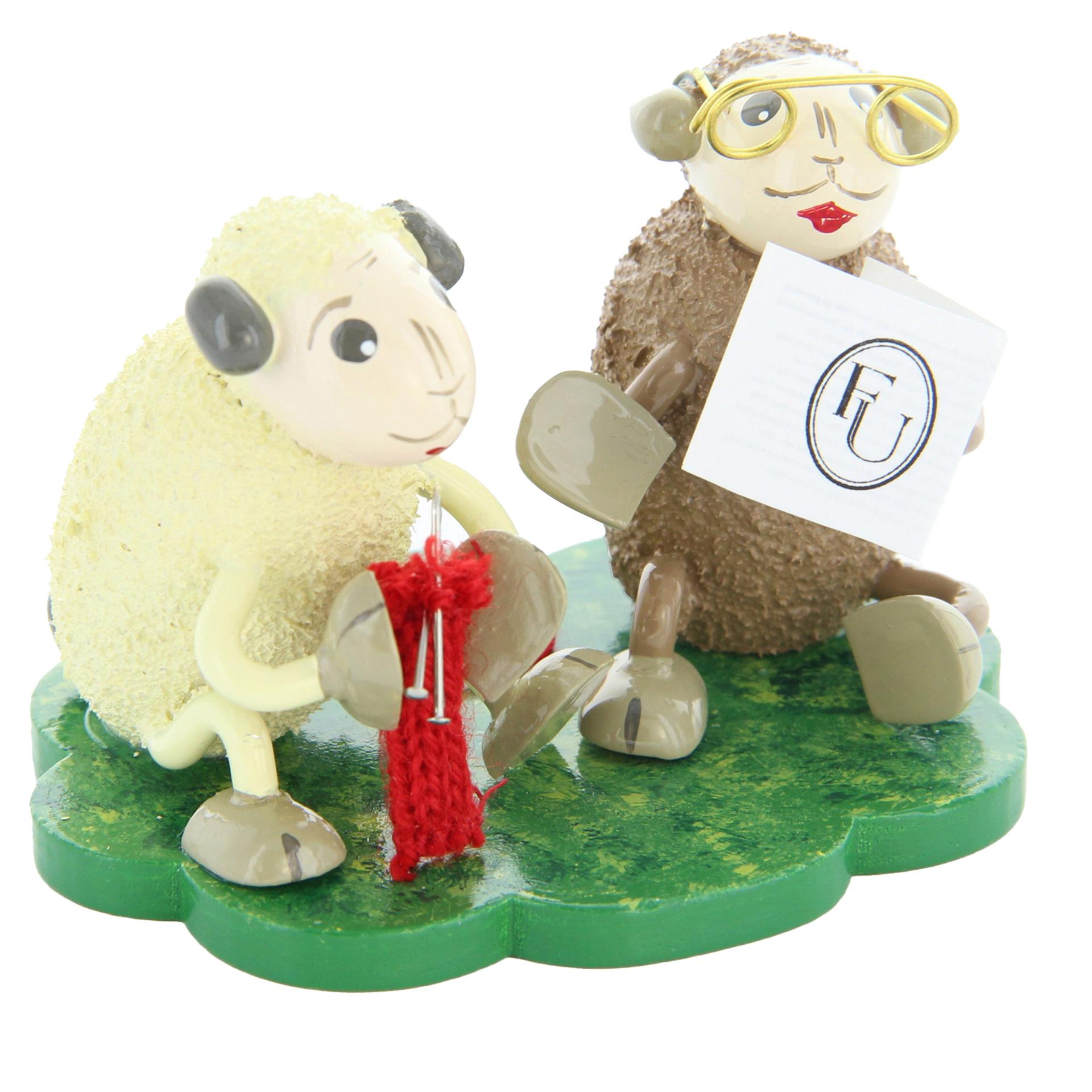 Schafe Omi und Opi