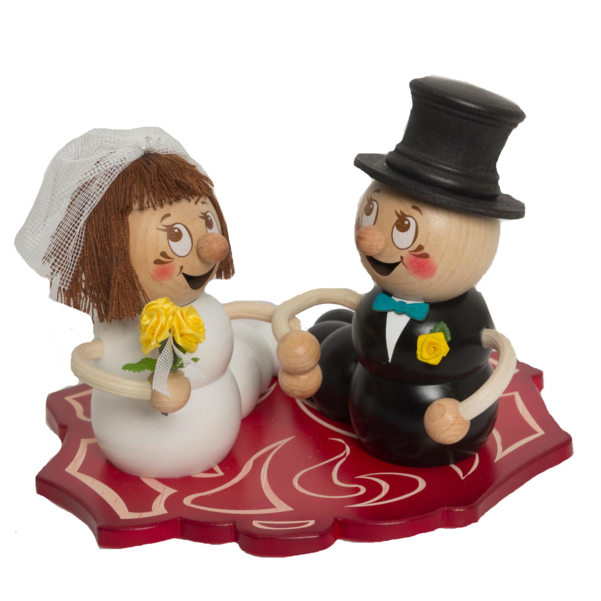Hochzeitspaar  Rudi und Rosi