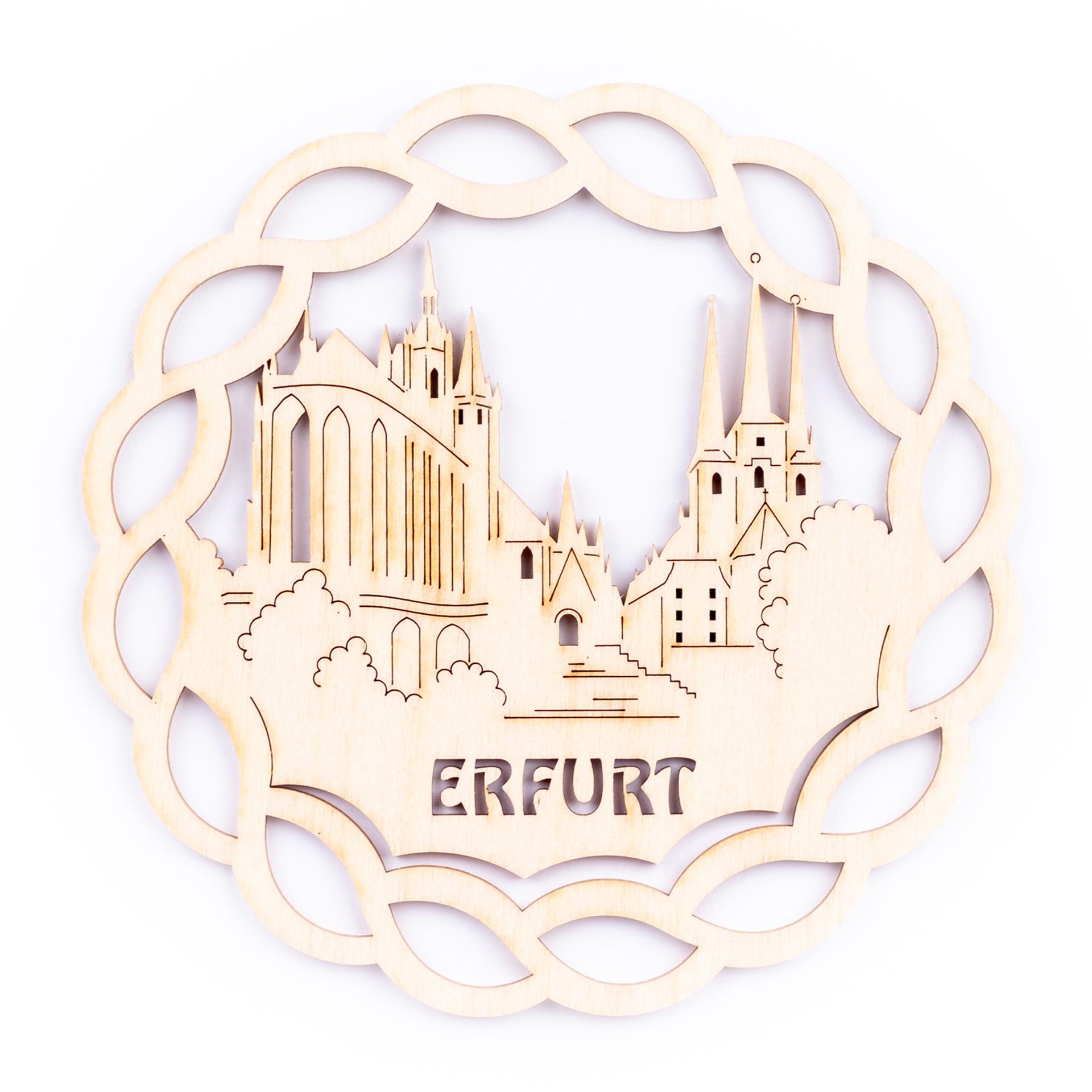 Fensterbild Erfurt, klein