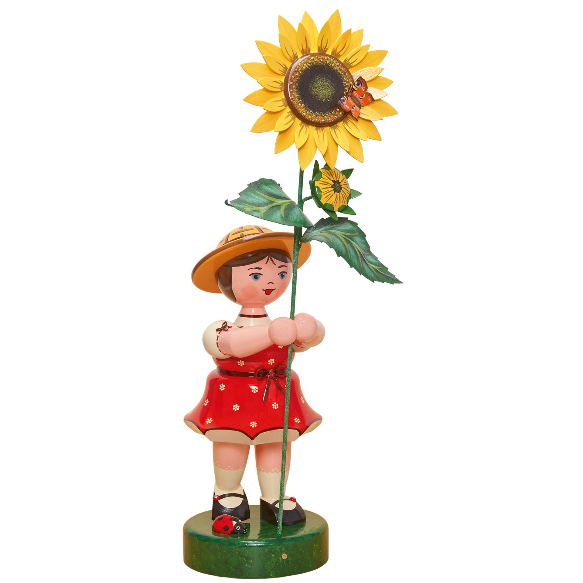 Blumenkind Mädchen Sonnenblume, 53cm
