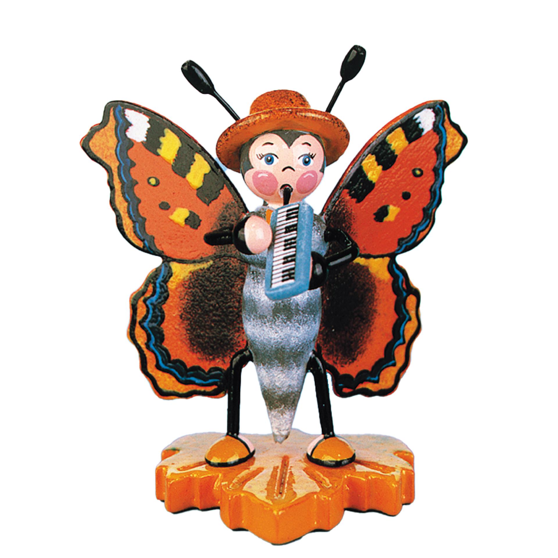 Schmetterling mit Melodika