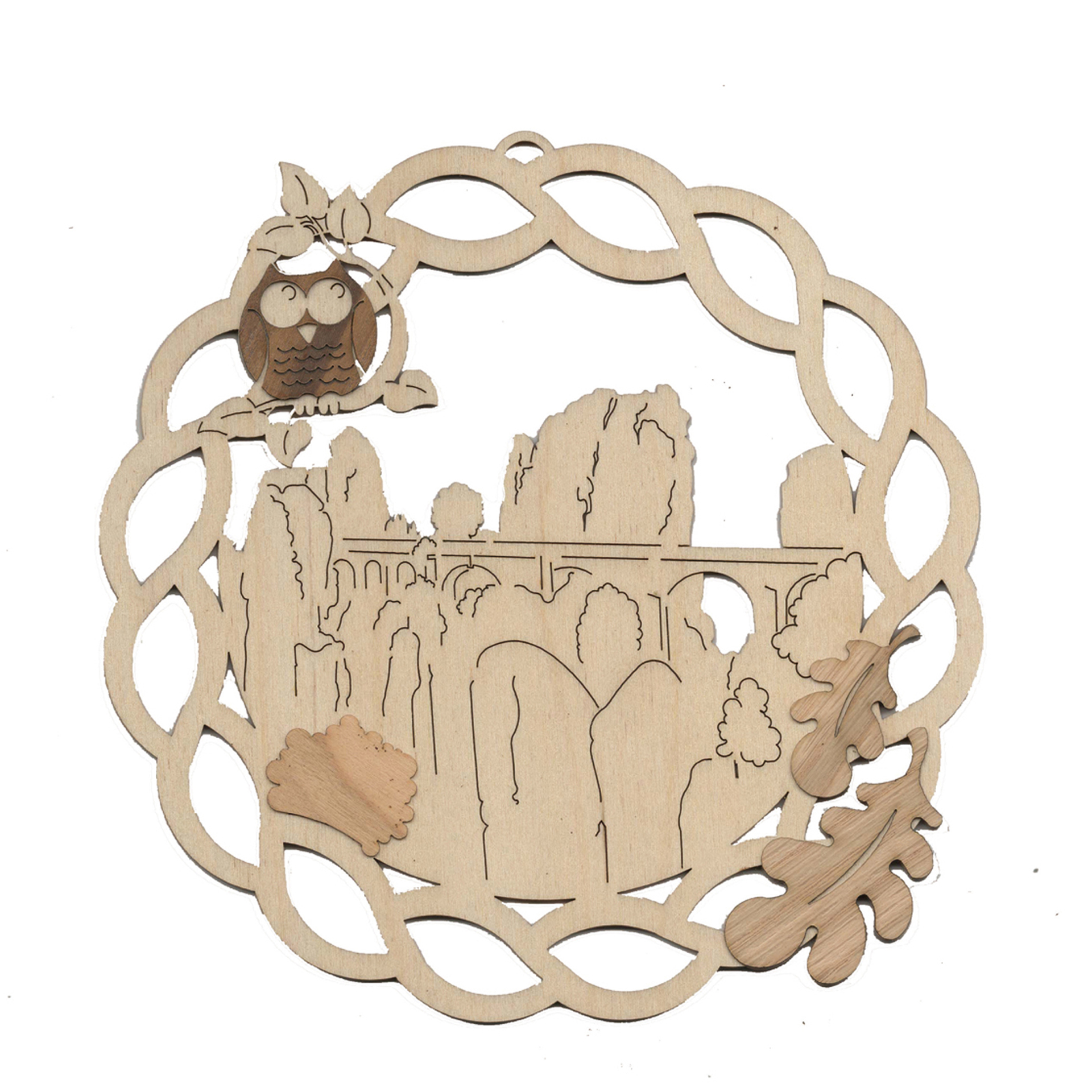 Fensterbild Bastei