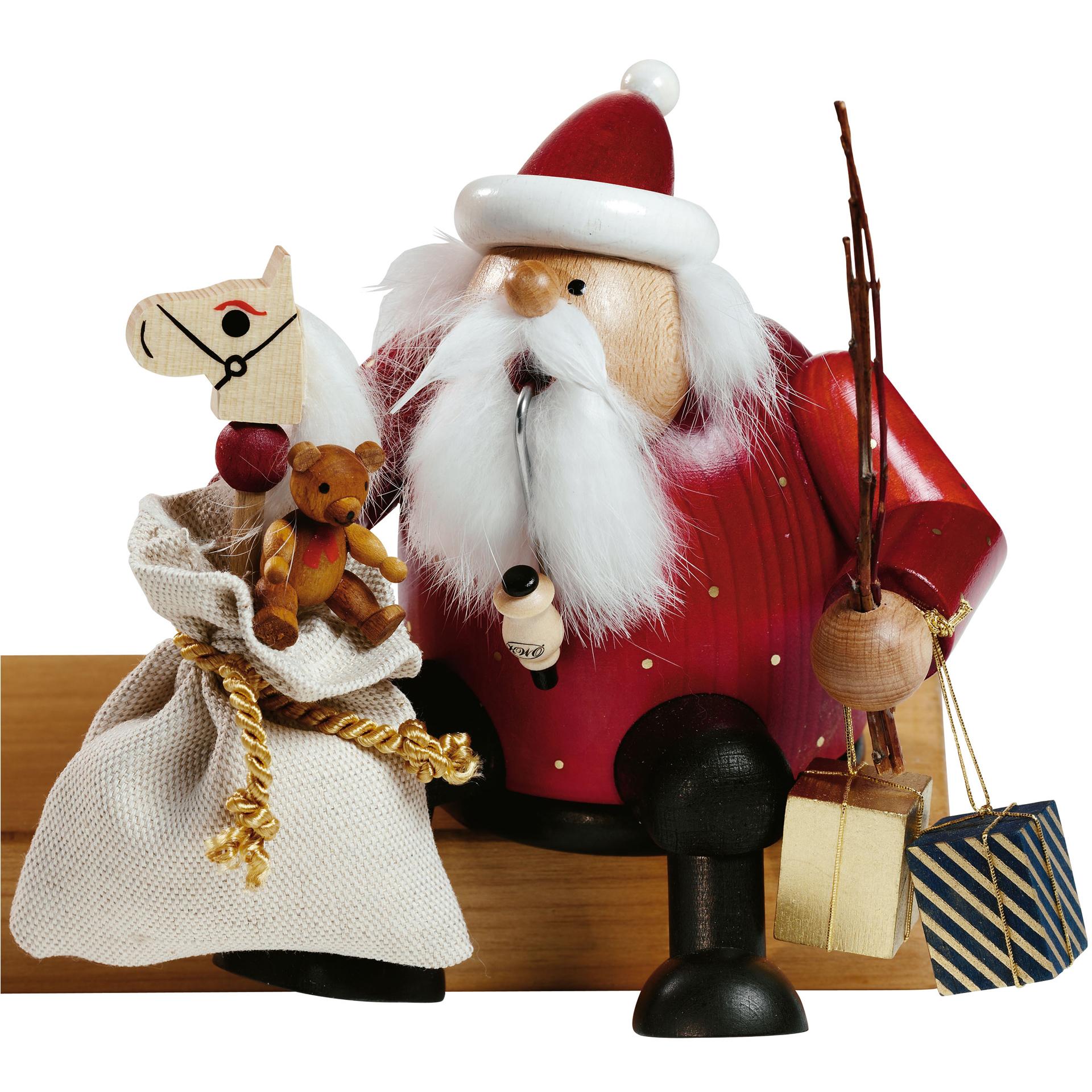 Rauchfigur Weihnachtsmann