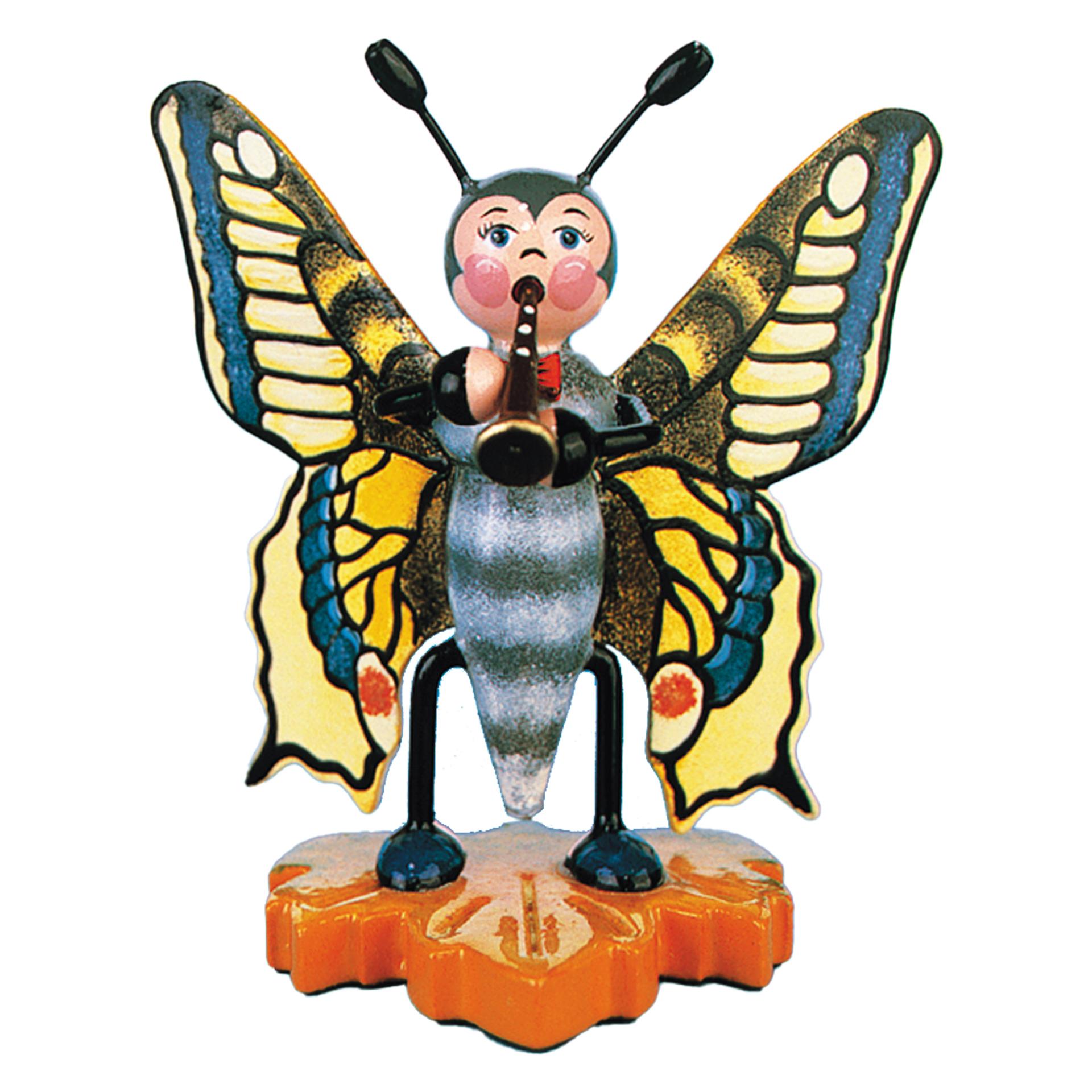 Schmetterling mit Flöte